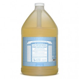 Dr Bronner's 18-in-1 Hemp Pure Castile Soap - 3.8 litres Baby Unscented