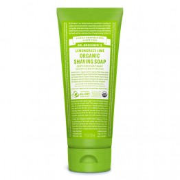 Dr Bronner's Organic Shaving Gel - 208ml Lemongrass Lime