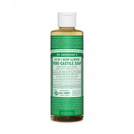 Dr Bronner's 18-in-1 Hemp Pure Castile Soap - 237ml Almond