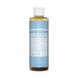 Dr Bronner's 18-in-1 Hemp Pure Castile Soap - 237ml Baby Unscented