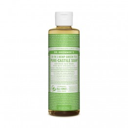 Dr Bronner's 18-in-1 Hemp Pure Castile Soap - 237ml Green Tea