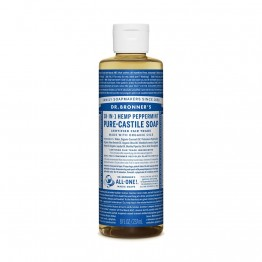Dr Bronner's 18-in-1 Hemp Pure Castile Soap - 237ml Peppermint