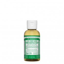 Dr Bronner's Castile Soap 59ml Almond