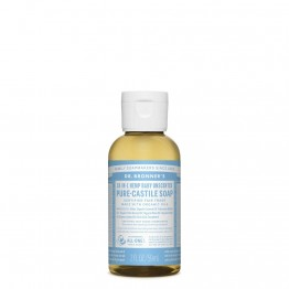 Dr Bronner's Castile Soap 59ml Unscented