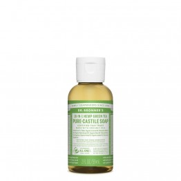 Dr Bronner's Castile Soap 59ml Green Tea