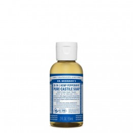 Dr Bronner's Castile Soap 59ml Peppermint