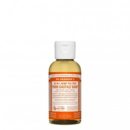 Dr Bronner's Castile Soap 59ml Tea Tree