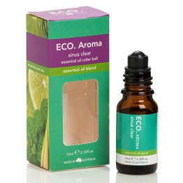 Eco Aroma Sinus Clear Essential Oil Blend - 10ml Rollerball