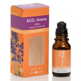 Eco Aroma Sleep Essential Oil Blend - 10ml Rollerball