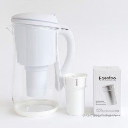 Eco Bud Gentoo Glass Water Filter Jug - 1.5L