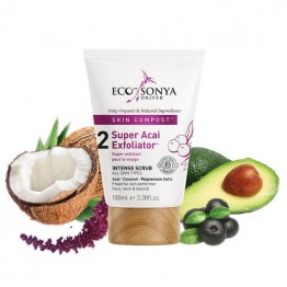 Eco By Sonya Super Acai Exfoliator - 100ml