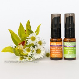 Eco Face Lighten & Brighten Duo - 2 x 15ml