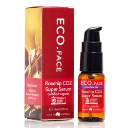 Eco Face Certified Organic Rosehip CO2 Super Serum 15ml
