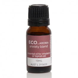 Eco Aroma Anxiety Essential Oil Blend - 10ml