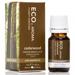 Eco Aroma Cedarwood Essential Oil - 10ml