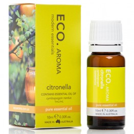 Eco Aroma Citronella Essential Oil - 10ml