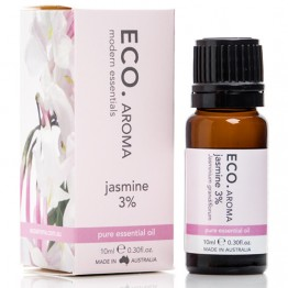 Eco Aroma Jasmine 3% Essential Oil - 10ml