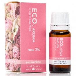 Eco Aroma Rose 3% Essential Oil - 10ml