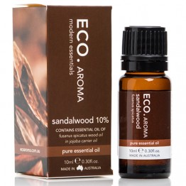 Eco Aroma Sandalwood 10% Essential Oil - 10ml