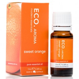Eco Aroma Sweet Orange Essential Oil - 10ml