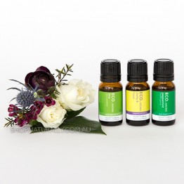 Eco Aroma Clarity & Focus Essential Oils Pack - Lime Peppermint and Clarity & Focus