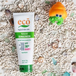 Eco All Natural Sunscreen - Baby SPF 30+ (100g)