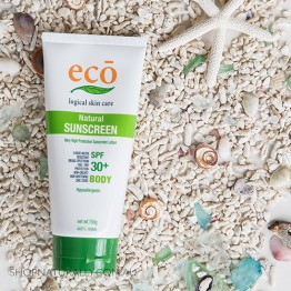 Eco All Natural Sunscreen - Body SPF 30+ (150g)