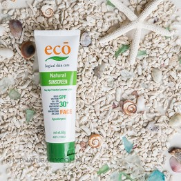 Eco All Natural Sunscreen - Face SPF 30+ (65g)