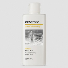 Ecostore Dishwasher Rinse Aid 200ml Lemon