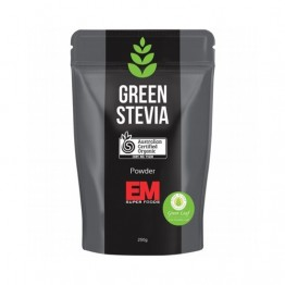 EM Superfoods Organic Green Leaf Stevia Powder 250g