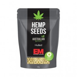 EM Super Foods Raw Australian Hemp Seeds (hulled) - 500g