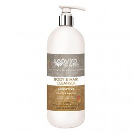 EnviroCare Sensitive Liquid Body & Hair Cleanser / Shampoo / Soap Alternative - Unscented - 1 litre