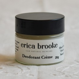 Erica Brooke Natural Deodorant Creme - Him & Her DOUBLE STRENGTH 20g sample pot