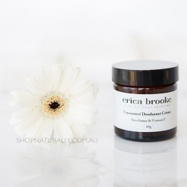 Erica Brooke Natural Deodorant Creme - Unscented 70g
