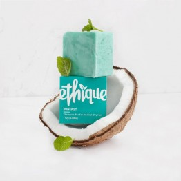Ethique Solid Shampoo Bar for Normal To Dry Hair 110g - Mintasy