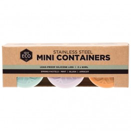 Ever Eco Stainless Steel Mini Containers Spring Pastel