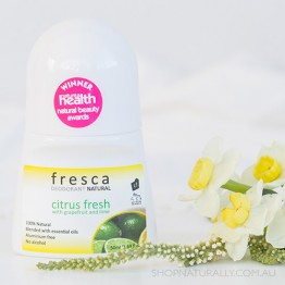 Fresca Natural Deodorant - 50ml Roll-on - Citrus Fresh