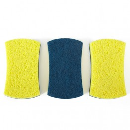 Full Circle Refresh Scrubber Sponges - 3 pack
