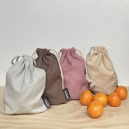 Green Essentials Cotton Produce Bags - 4 pack