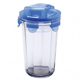 Glasslock Leakproof Smoothie Cup - 500ml
