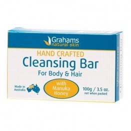 Grahams Natural Cleansing Bar - 100g