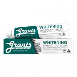 Grants Whitening Toothpaste with Baking Soda & Spearmint - 110gm tube