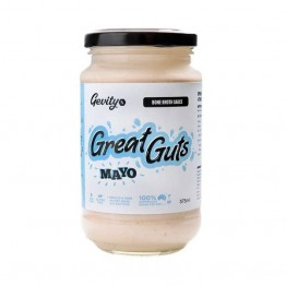 Gevity RX Meadow & Marrow Bone Broth Sauce - Great Guts Mayo 375ml