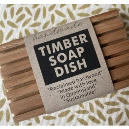 Green Essentials Reclaimed Timber Soap Rest