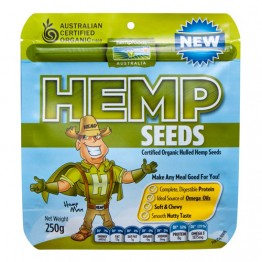 Hemp Foods Australia Certified Organic Hemp Seeds (hulled) 1kg