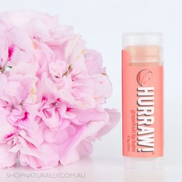 Hurraw! Raw Vegan Lip Balm - Grapefruit 4.3g