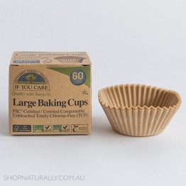 If You Care Unbleached Chlorine Free Baking Cups - Large x 60