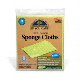 If You Care 100% Natural Sponge Cloths - pack of 5