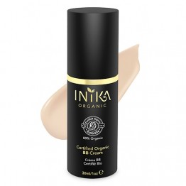 Inika Certified Organic BB Cream 30ml - Porcelain