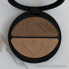 Inika Pressed Mineral Eye Shadow Duo 3.9g - Gold Oyster